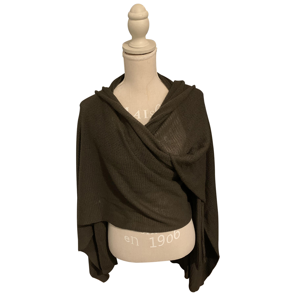 Rick Owens - Pull   pour femme en laine - marron