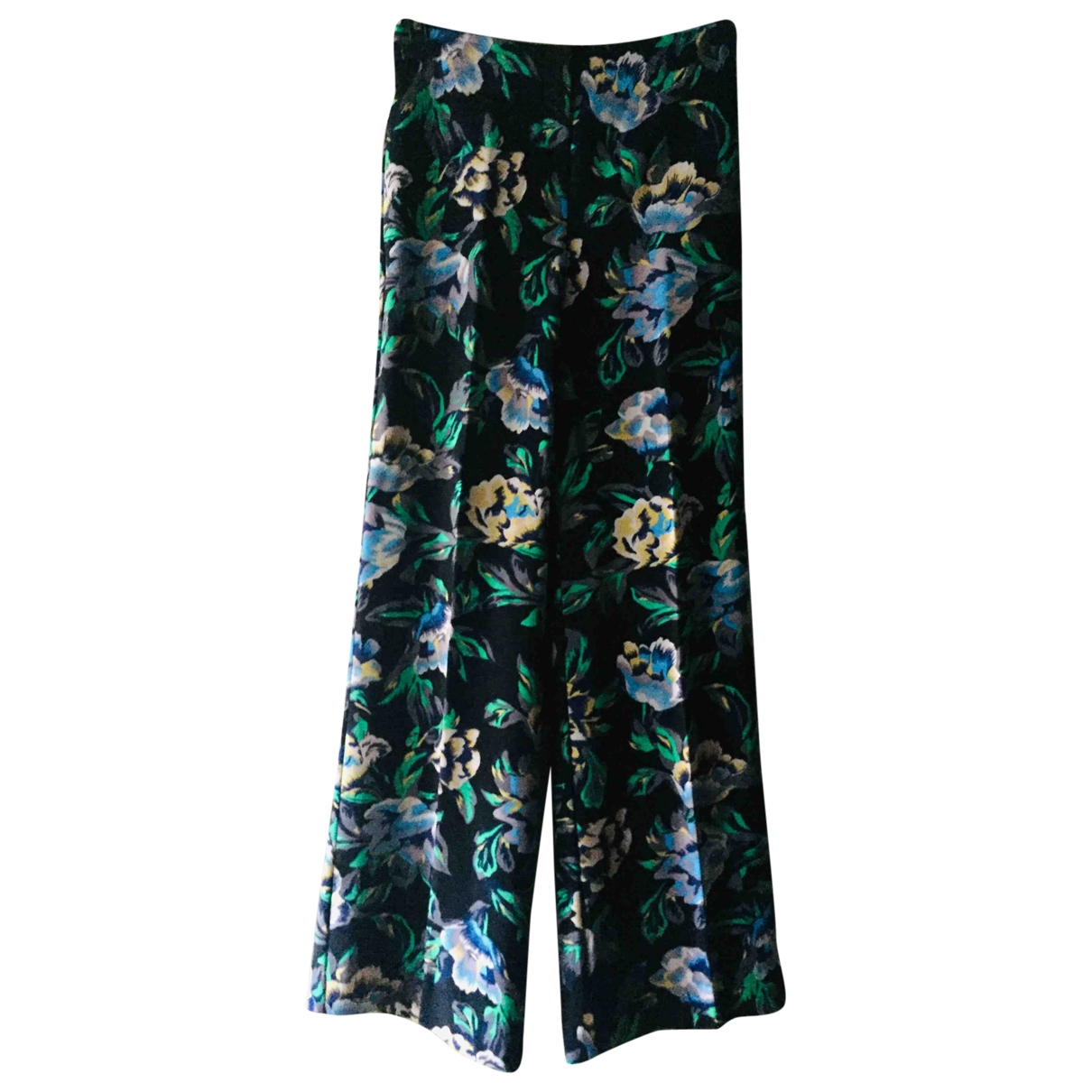 Diane Von Furstenberg \N Multicolour Trousers for Women 6 US