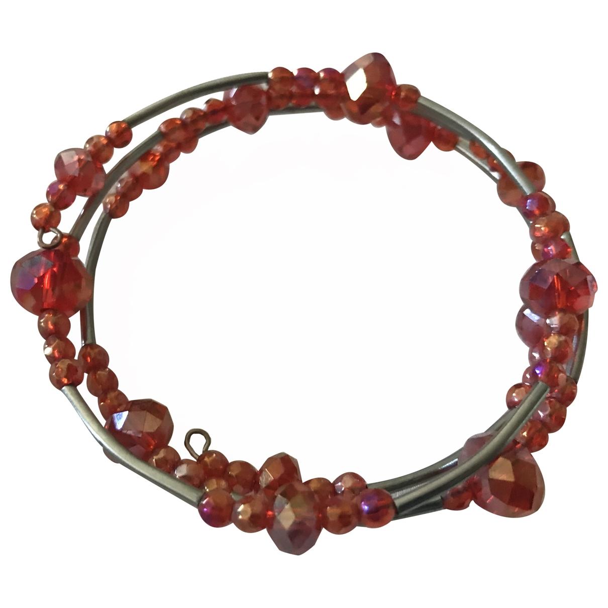 - Bracelet   pour femme en cristal - orange