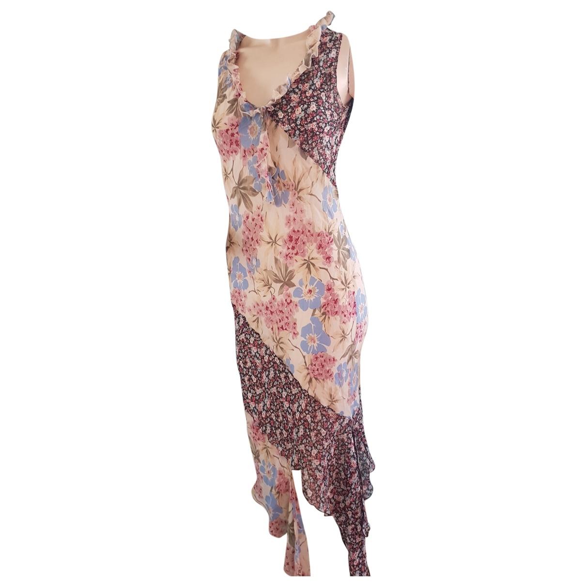 Patrizia Pepe - Robe   pour femme en soie - multicolore