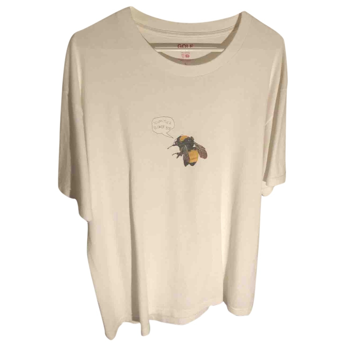Golf Wang - Tee shirts   pour homme en coton - blanc