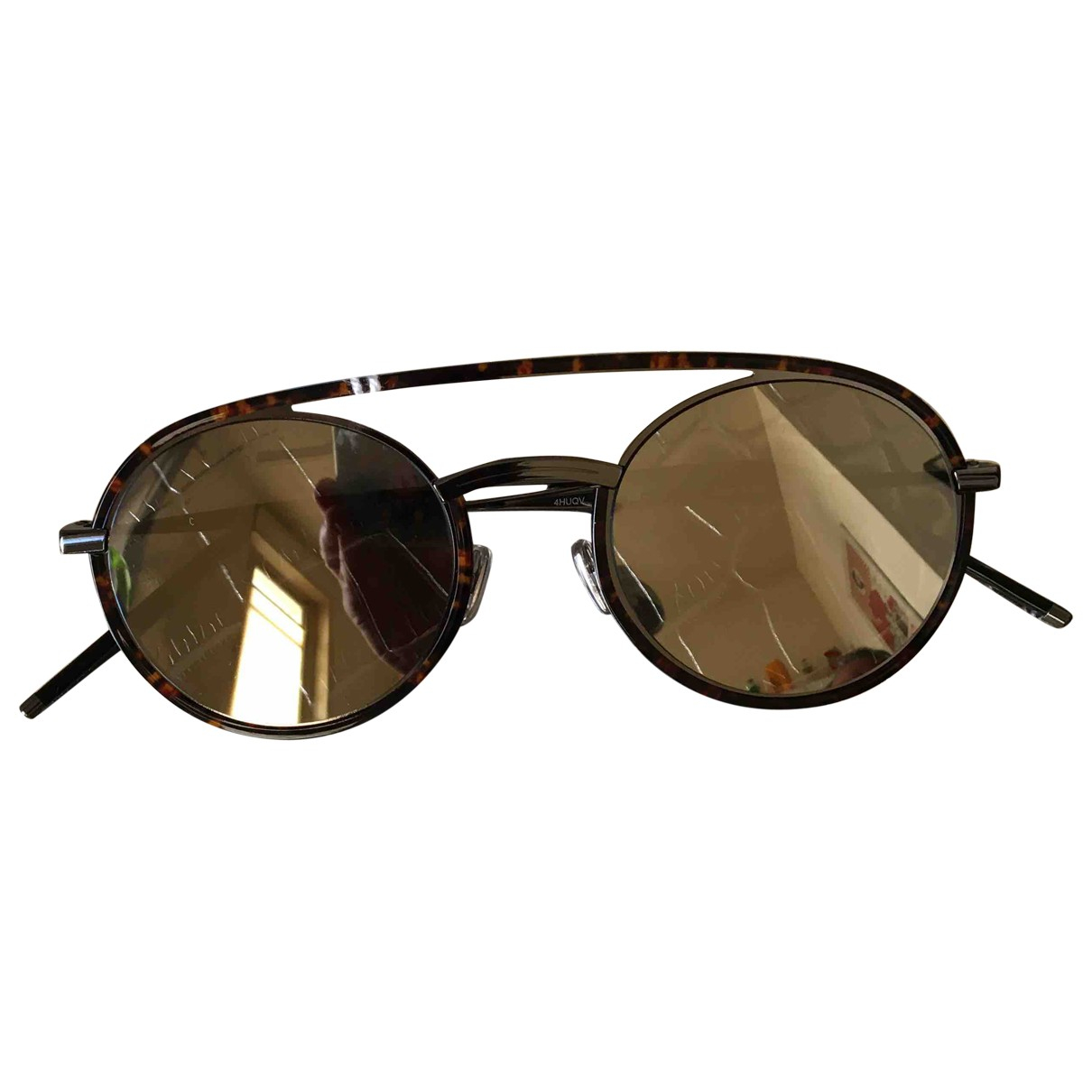 Dior Homme \N Brown Wood Sunglasses for Men \N