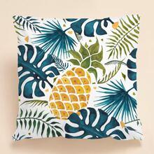 Kissenbezug mit Ananas Muster ohne Fuelle