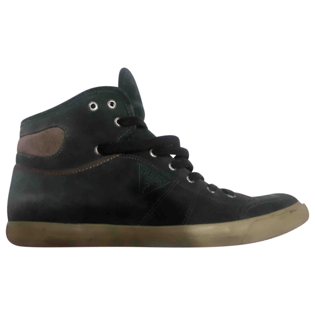 Guess \N Blue Suede Trainers for Men 45 EU
