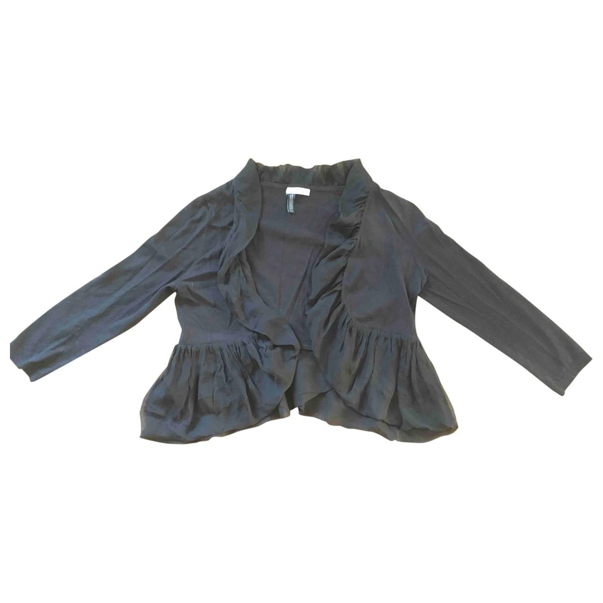 Hoss Intropia - Top   pour femme en laine - noir