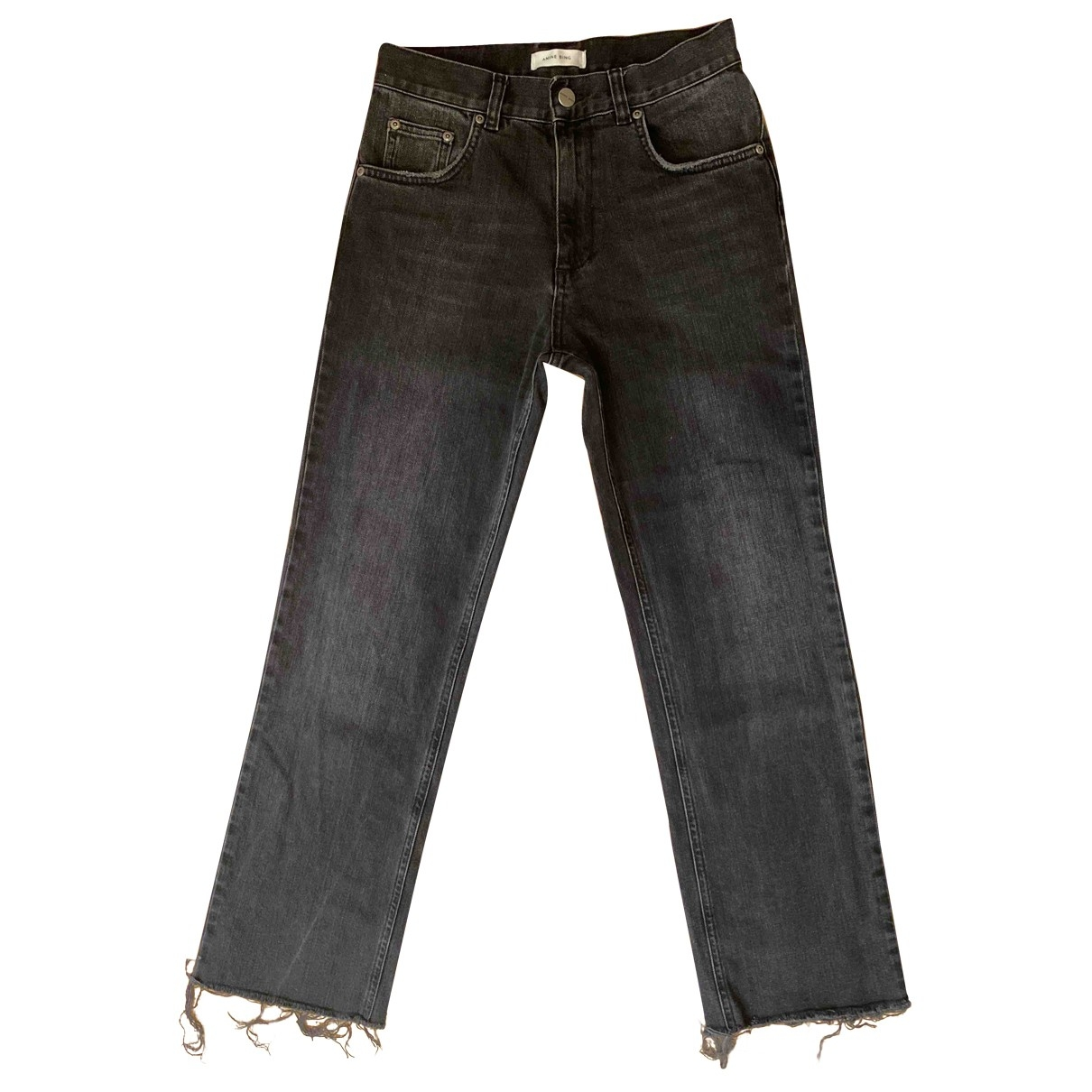Anine Bing \N Grey Denim - Jeans Jeans for Women 25 US