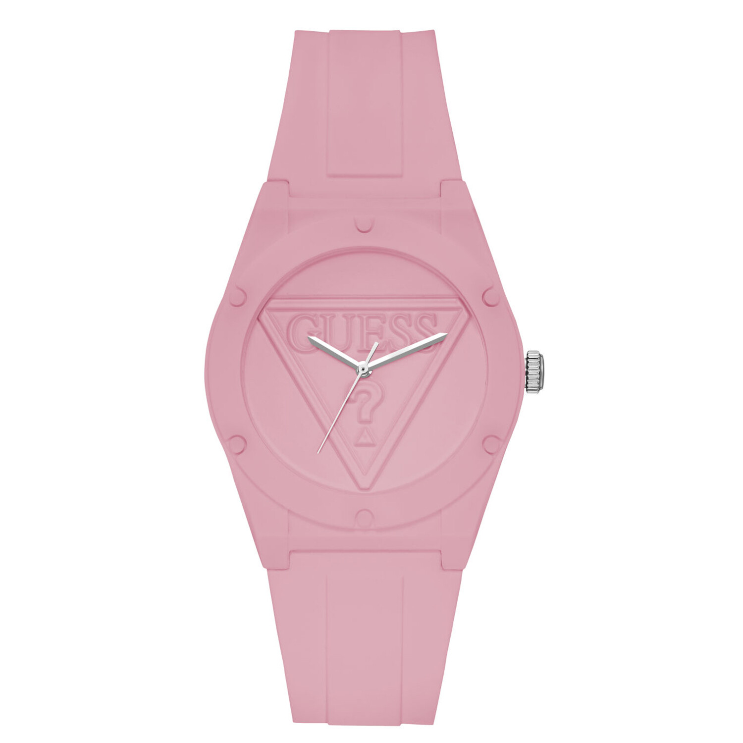 Guess Women's Mini Pop U1283L4 Pink Silicone Quartz Fashion Watch