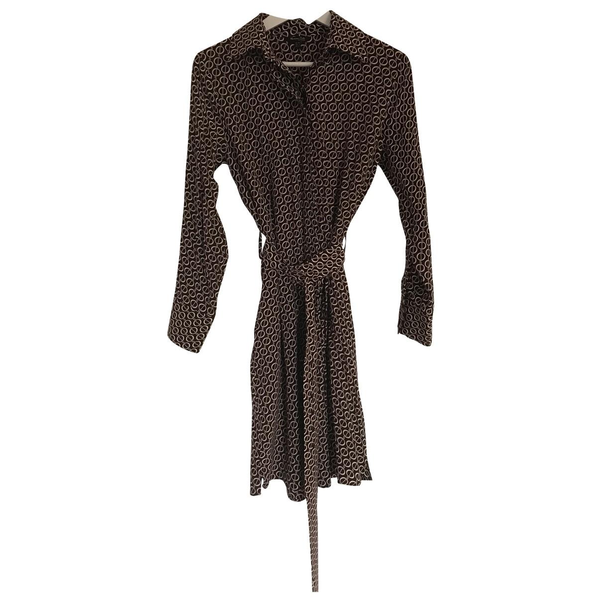 Massimo Dutti - Robe   pour femme - bordeaux