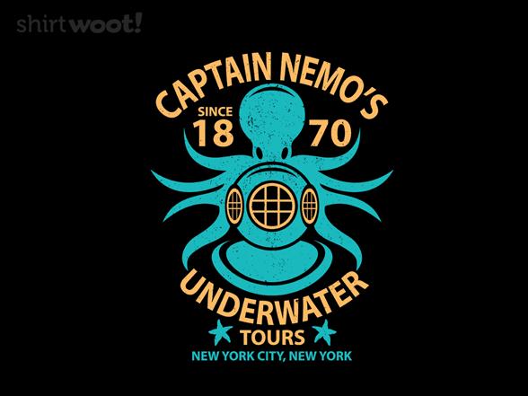 Underwater Tours T Shirt