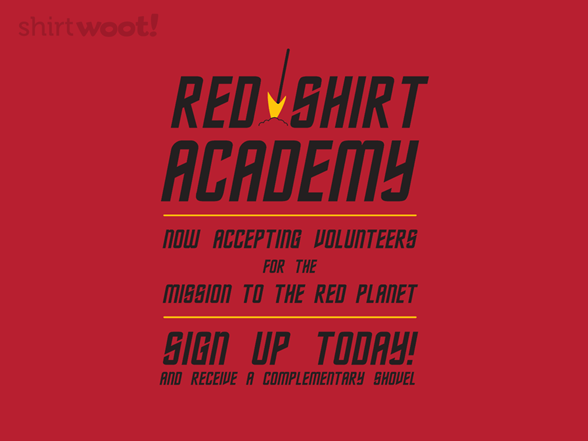 Red Shirt Academy T Shirt