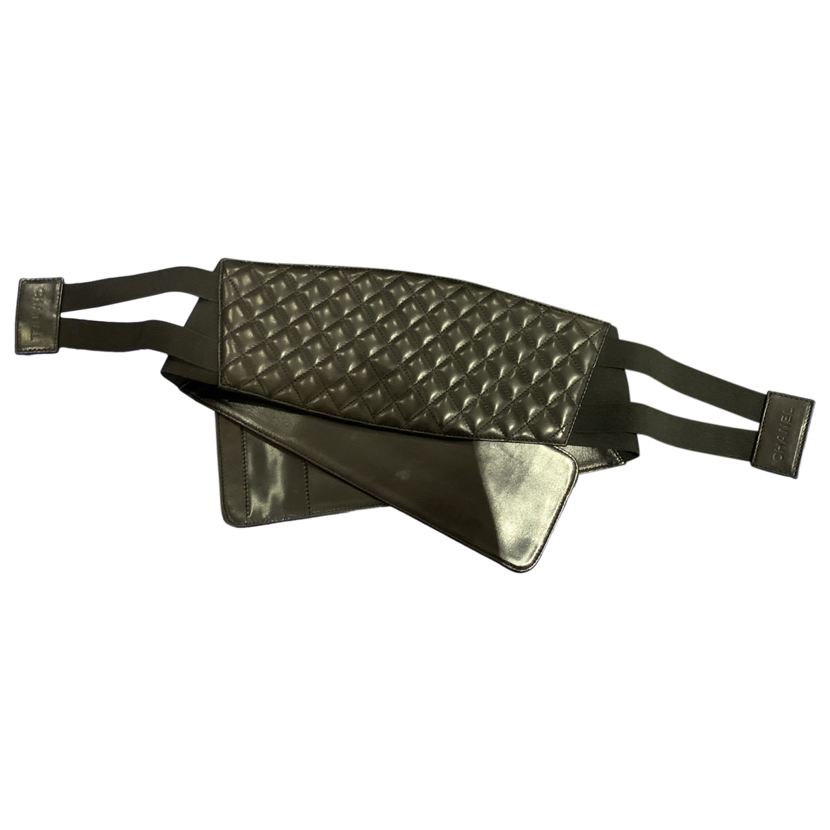 Chanel \N Black Leather belt for Women M International