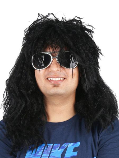 Milanoo Disfraz Halloween Pelucas Carnaval Disfraz Crimp Curl Accesorios para disfraces Halloween