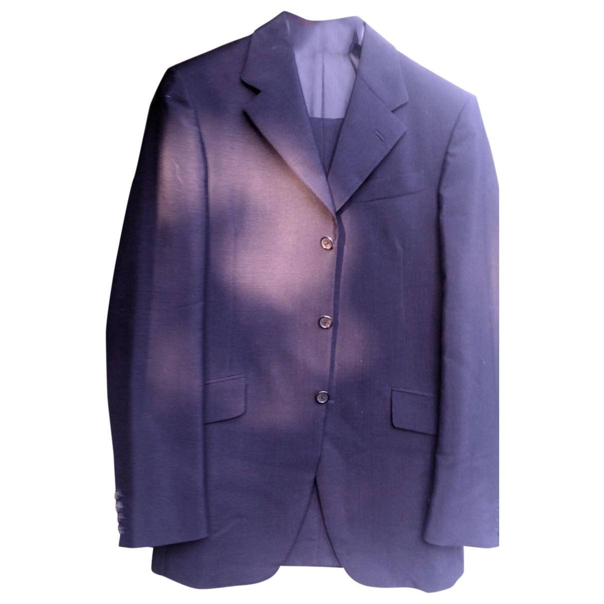 Prada - Costumes   pour homme en laine - bleu