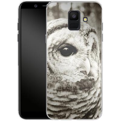 Samsung Galaxy A6 Silikon Handyhuelle - Wise von Joy StClaire