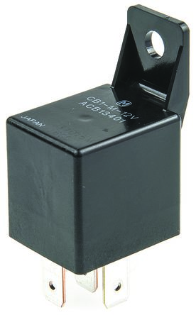 Panasonic , 12V dc Coil Automotive Relay SPDT, 40A Switching Current PCB Mount