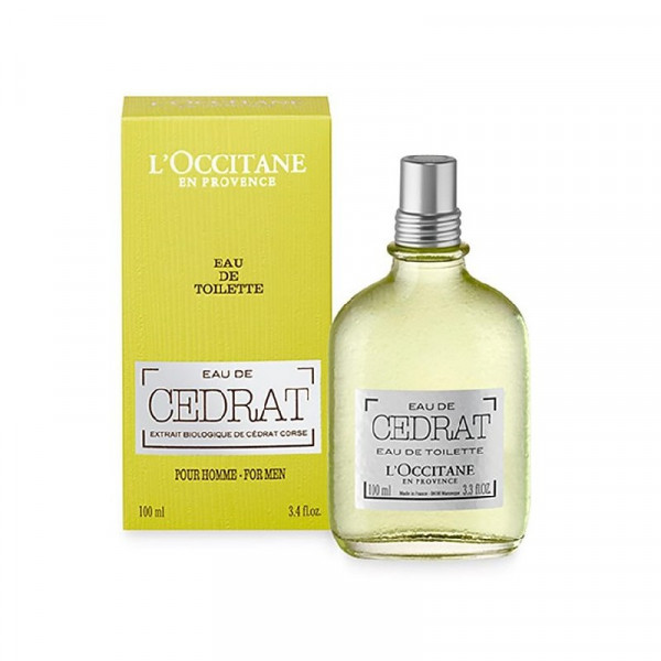 L'Occitane - Eau De Cédrat : Eau de Toilette Spray 2.5 Oz / 75 ml