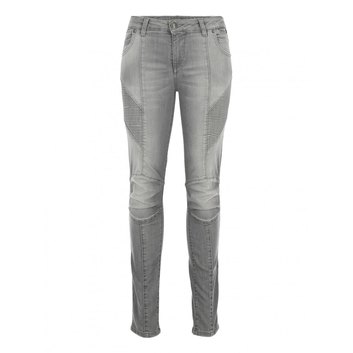 Balmain \N Grey Cotton Jeans for Women 26 US