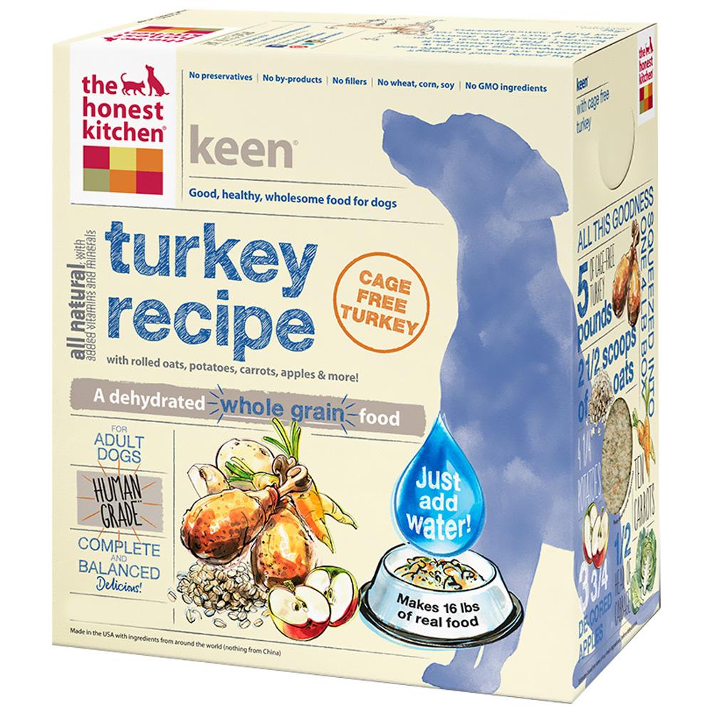 Honest Kitchen Keen Dehydrated Turkey Dog Food (10 lbs)