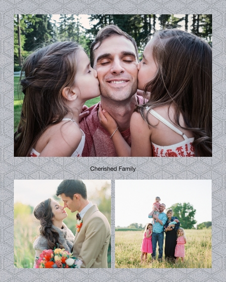 Family + Friends 16x20 Poster, Home Décor -Cherished Family