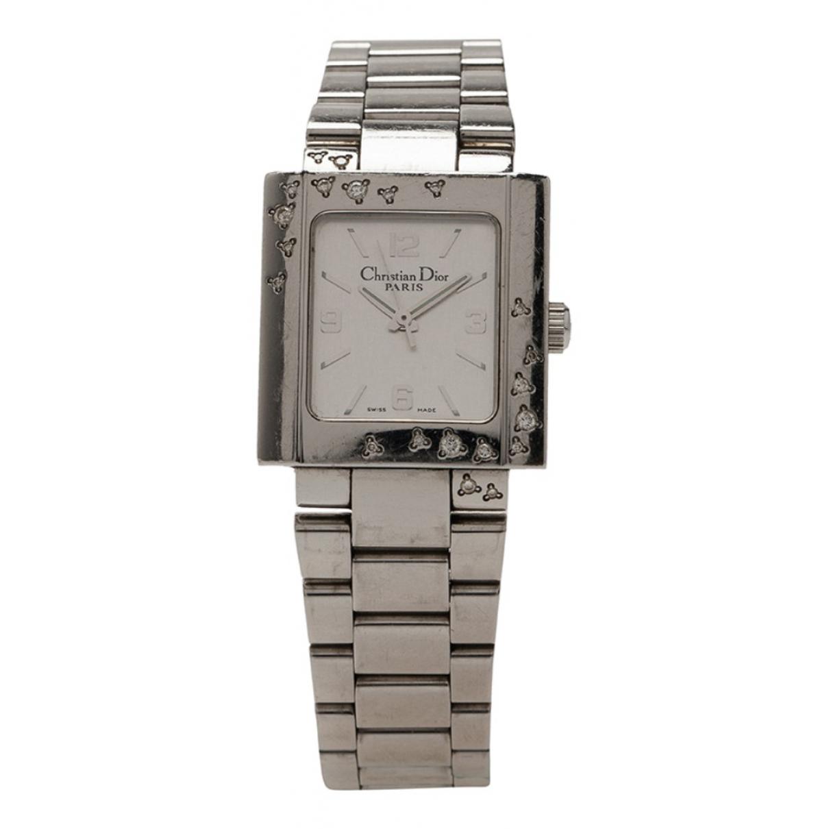 Dior - Montre Christal pour femme en acier - blanc