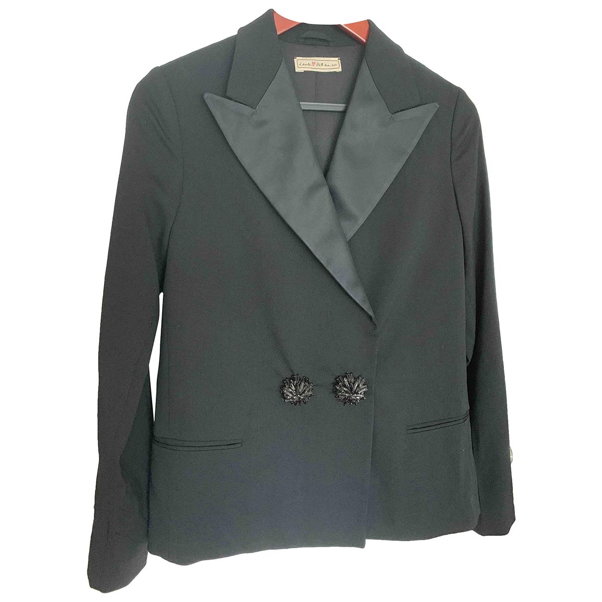 Lanvin For H&m - Veste   pour femme en laine - noir