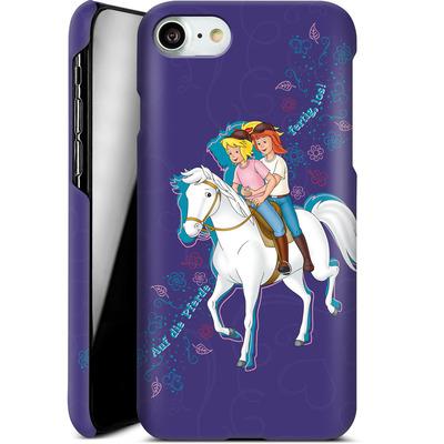 Apple iPhone 8 Smartphone Huelle - Bibi und Tina Pferd von Bibi & Tina