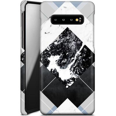 Samsung Galaxy S10 Plus Smartphone Huelle - Geometric Textures 5 von Mareike Bohmer
