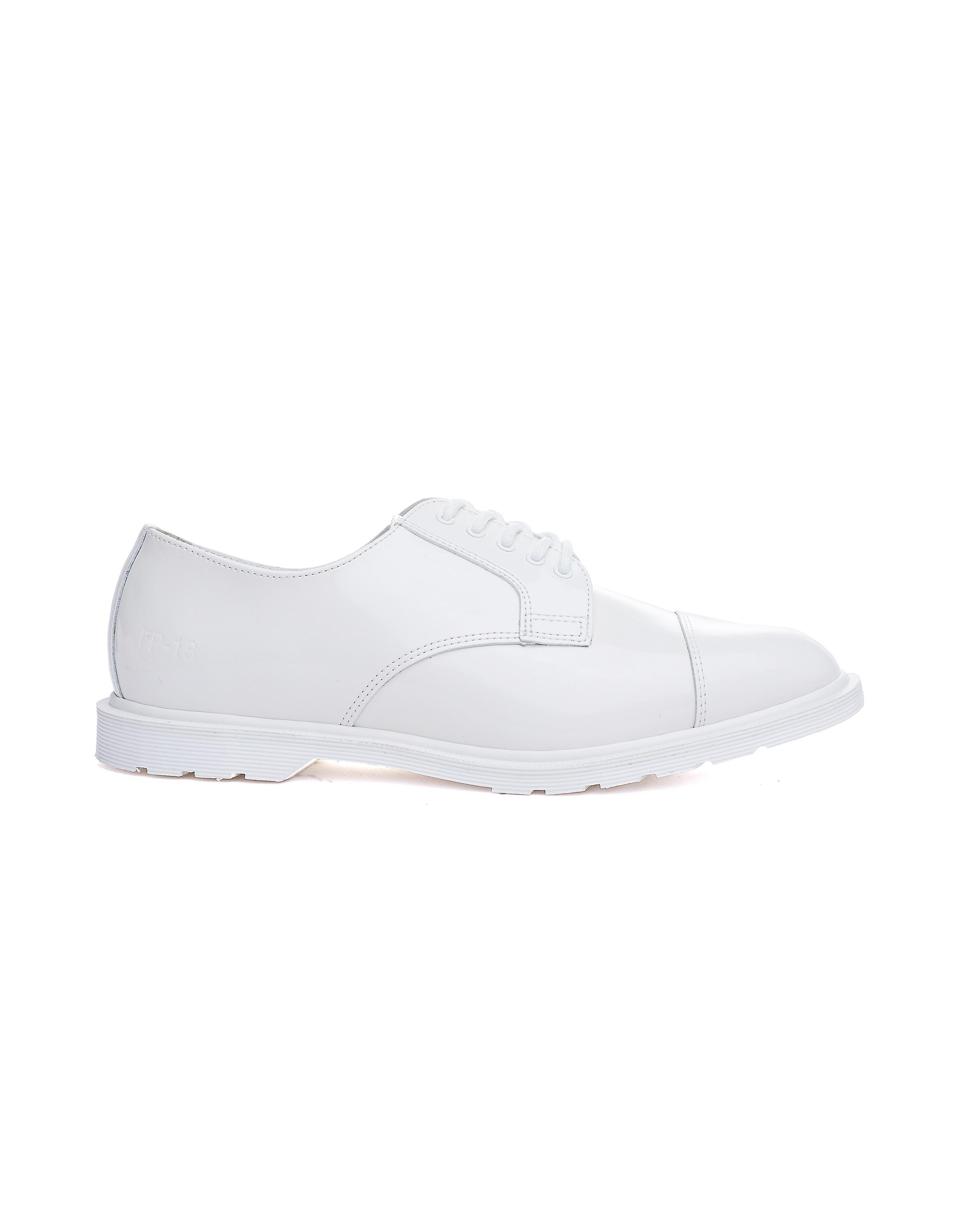 Gosha Rubchinskiy White Dr.Martens Leather Boots