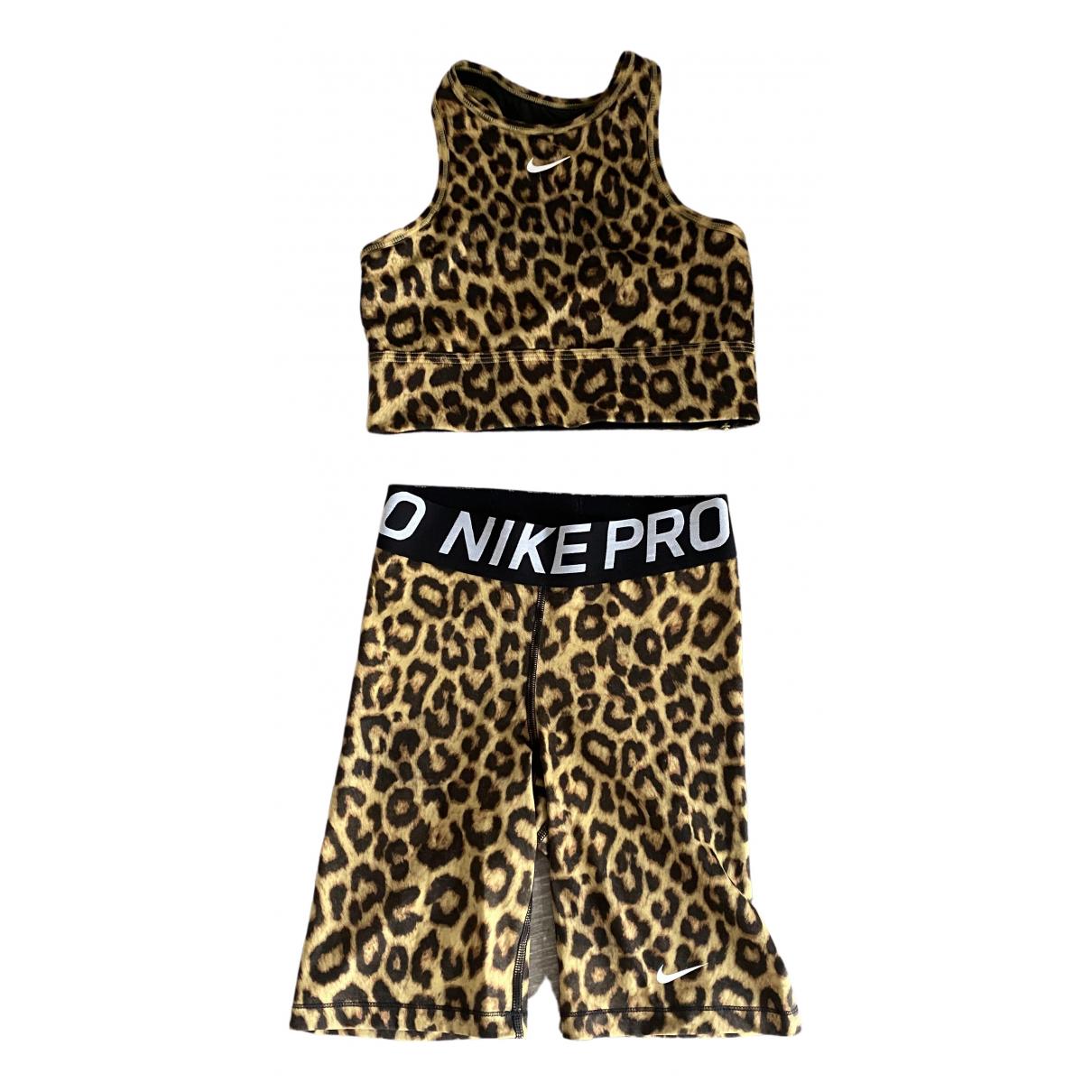 Nike - Combinaison   pour femme - beige