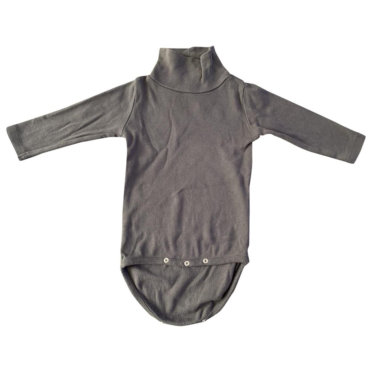 Bonpoint - Les ensembles   pour enfant en coton - gris