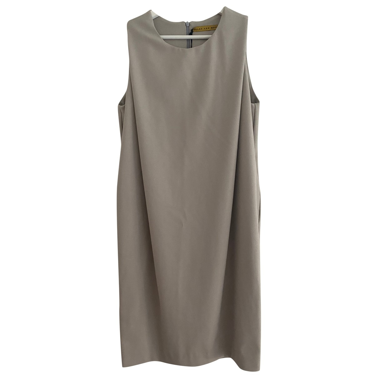 Non Signé / Unsigned \N Grey dress for Women M International