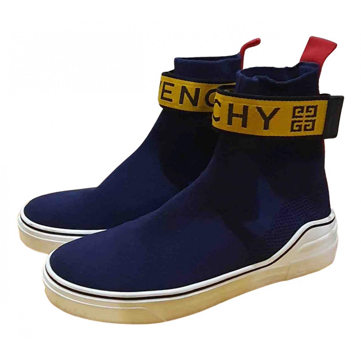 Givenchy - Baskets   pour homme en autre - bleu
