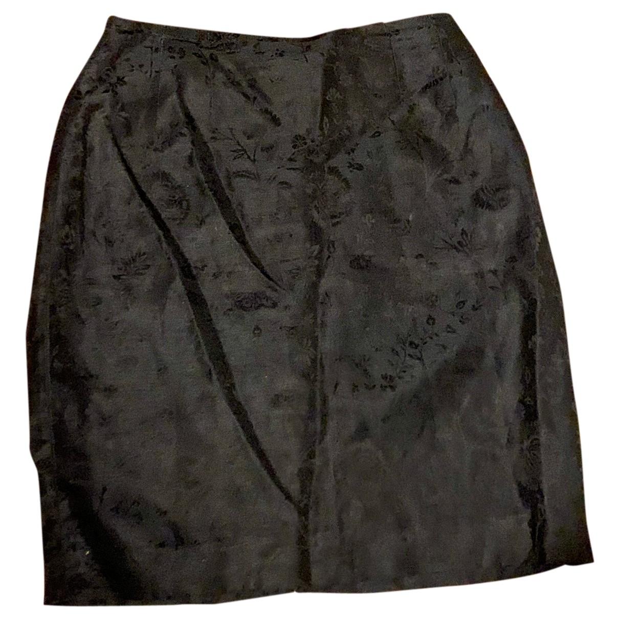 Dior - Jupe   pour femme en soie - marine
