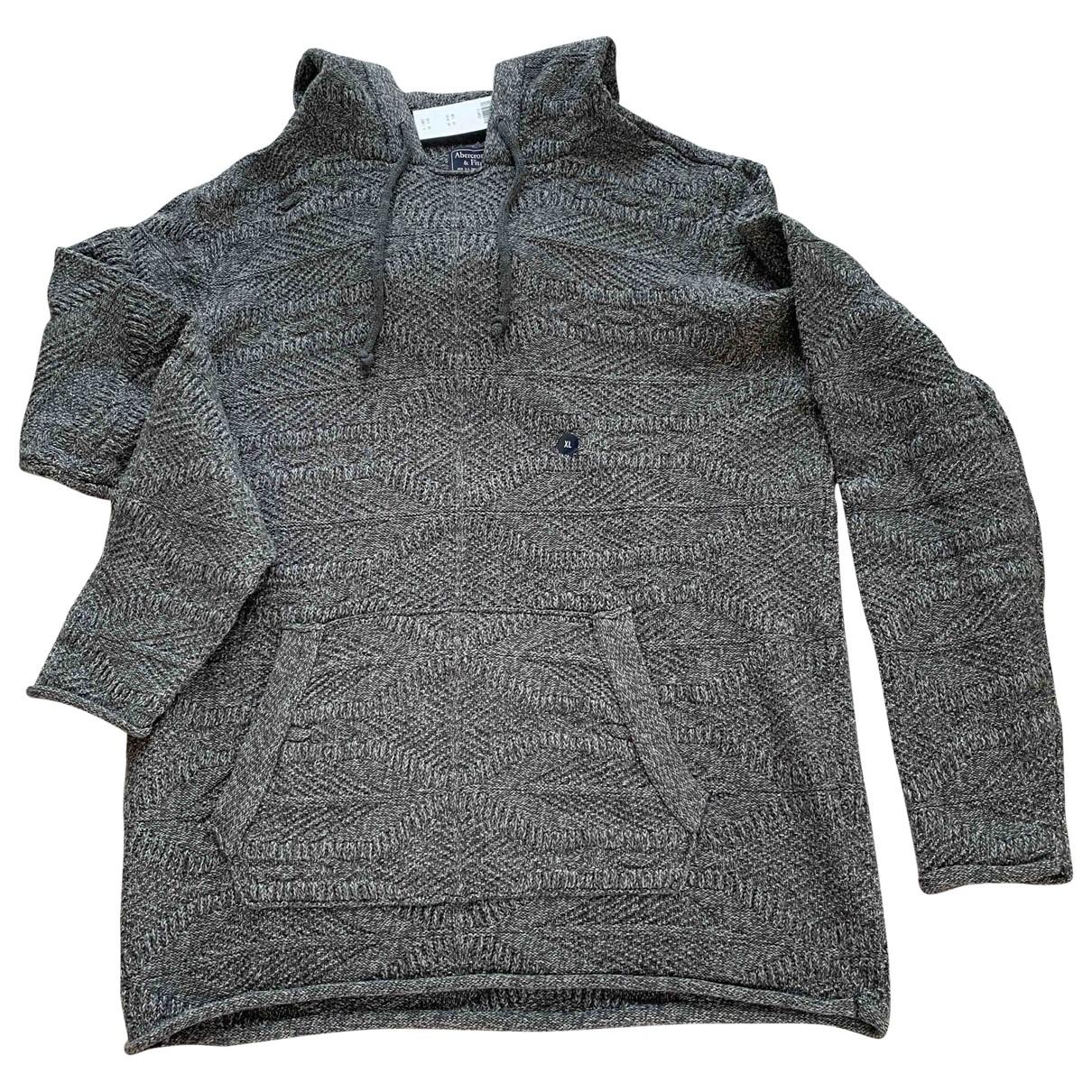 Abercrombie & Fitch \N Grey Cotton Knitwear & Sweatshirts for Men XL International