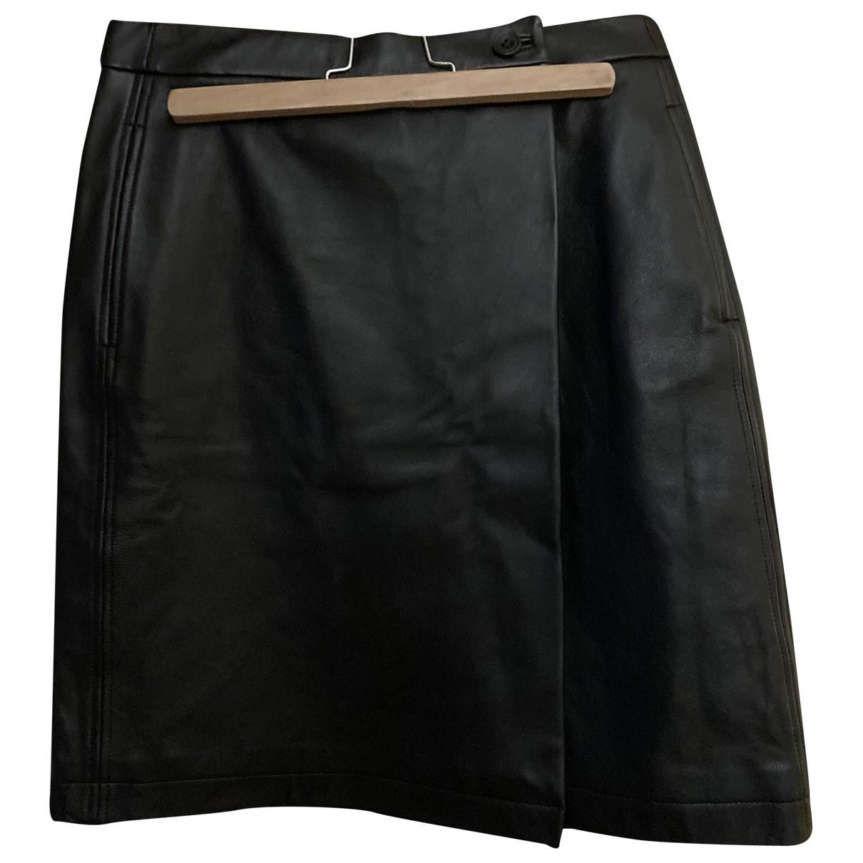Soeur - Jupe   pour femme en cuir - noir