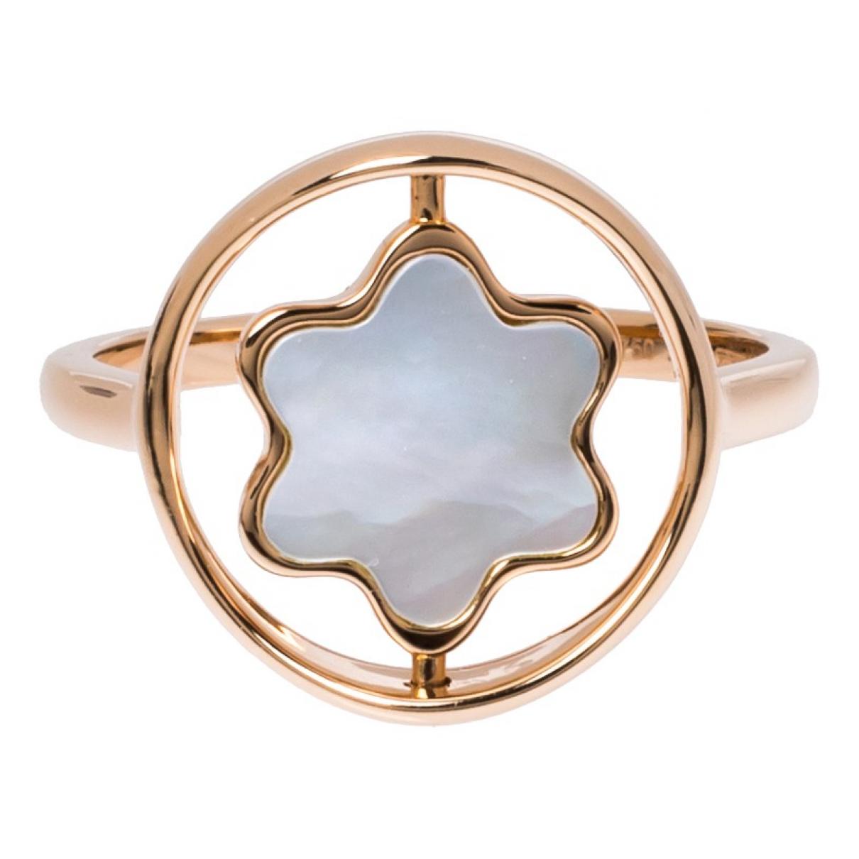 Montblanc - Bague   pour femme en or rose