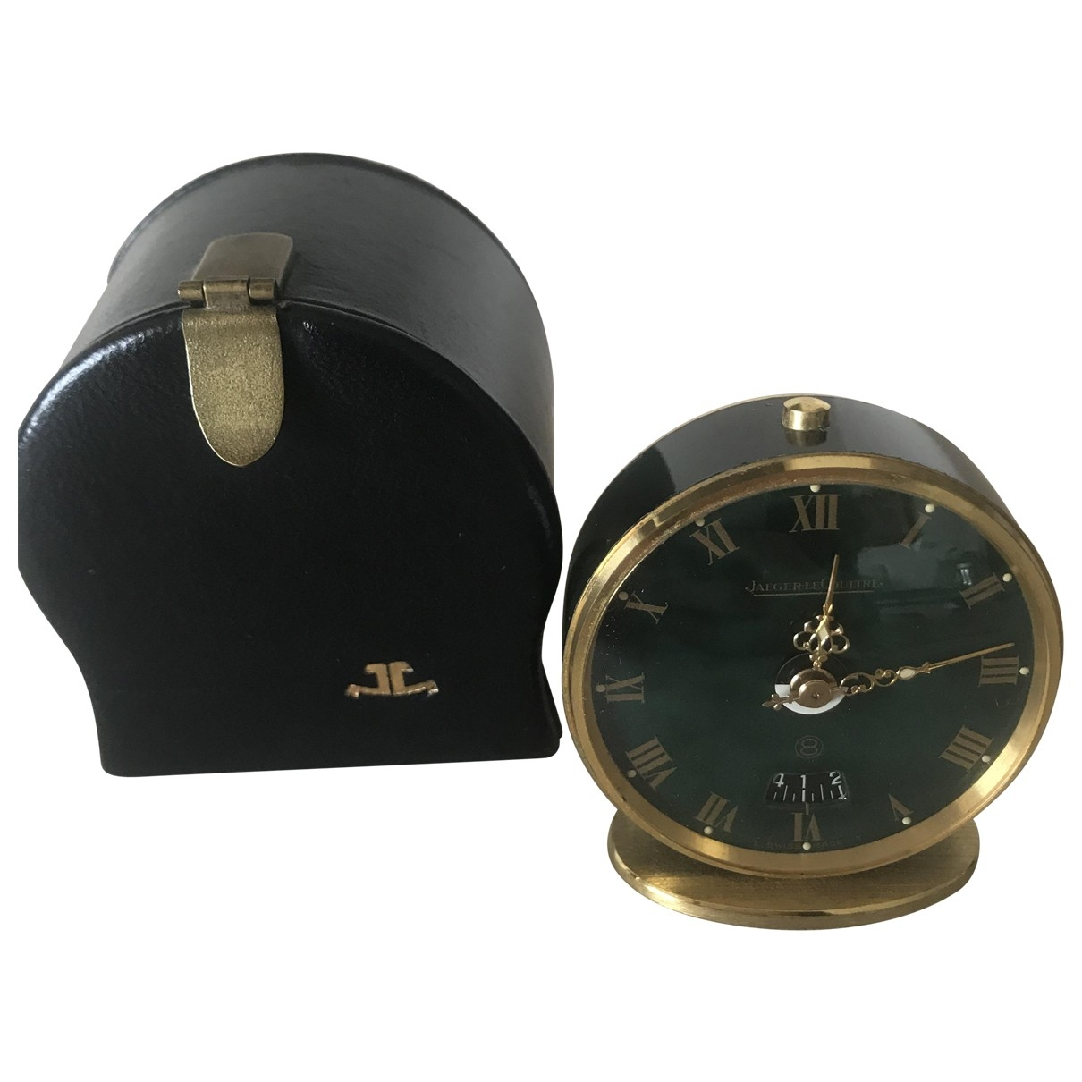 Jaeger-lecoultre \N Accessoires und Dekoration in  Gruen Stahl