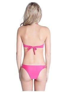 Hollow Out Halter Two-piece Bikini Set