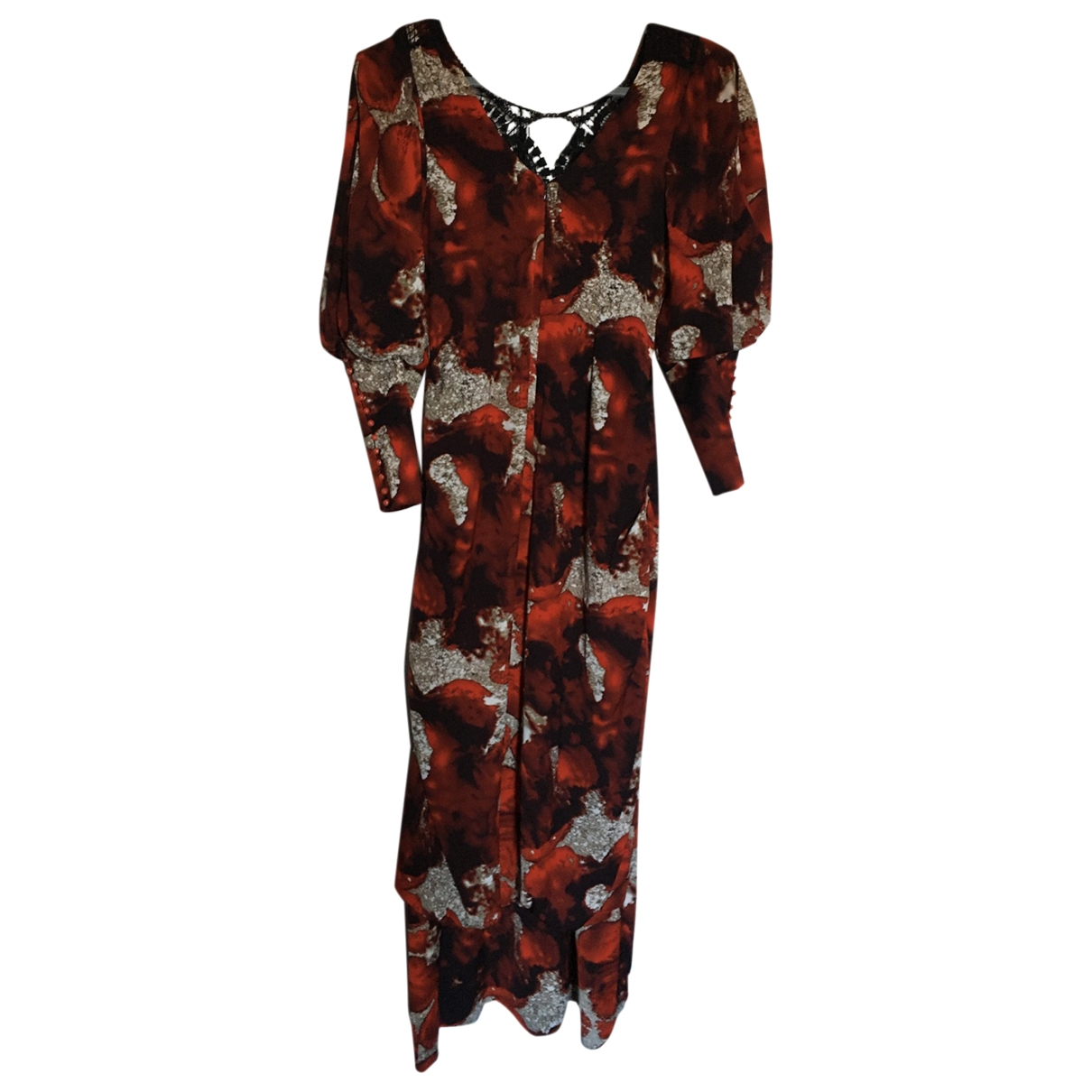 Non Signé / Unsigned \N Brown dress for Women 10 UK