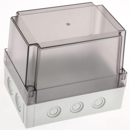 Fibox Grey Polycarbonate Enclosure, IP66, IP67, 180 x 130 x 150mm