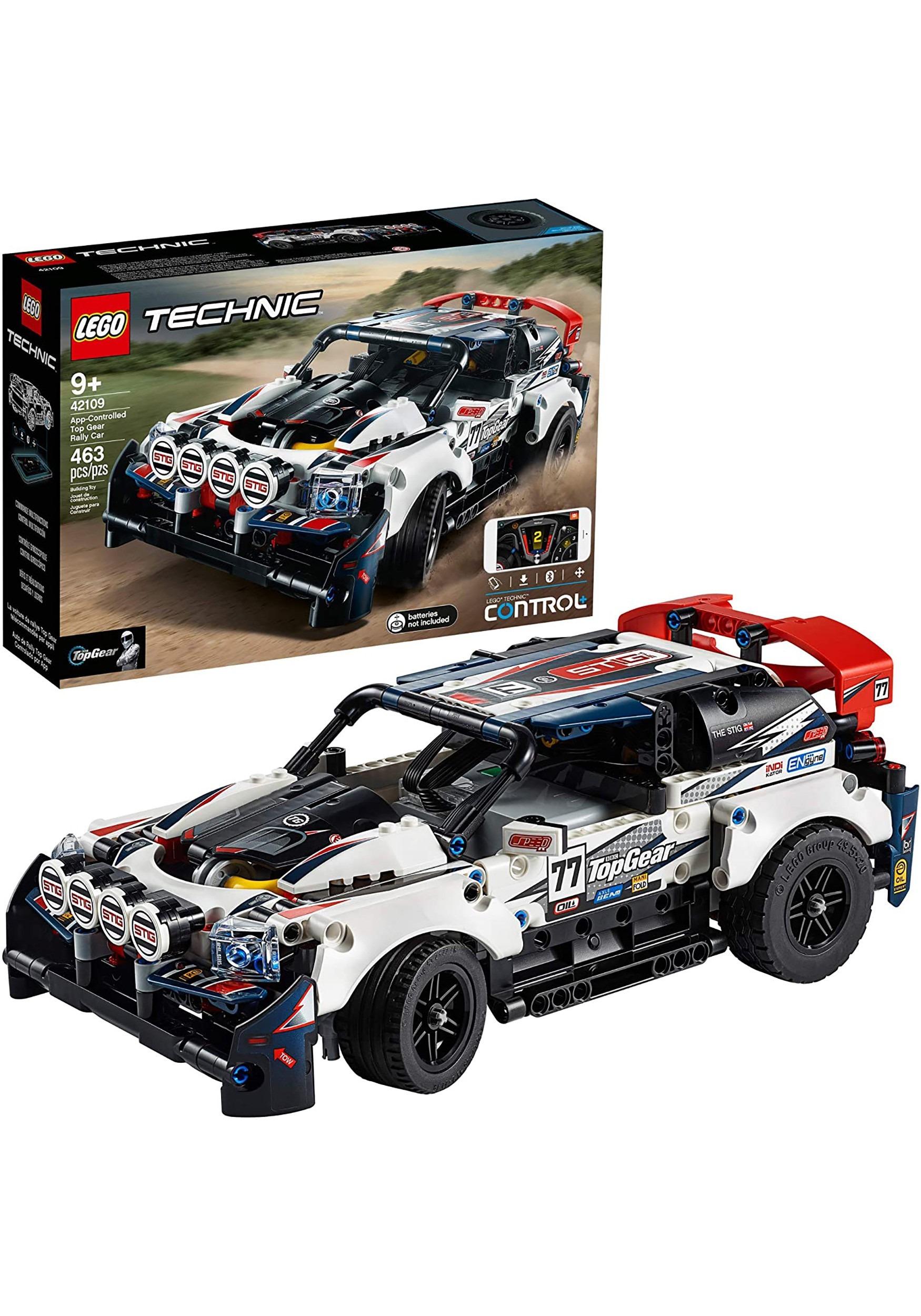 LEGO Technic App-Controlled Top Gear Rally Car Building Set