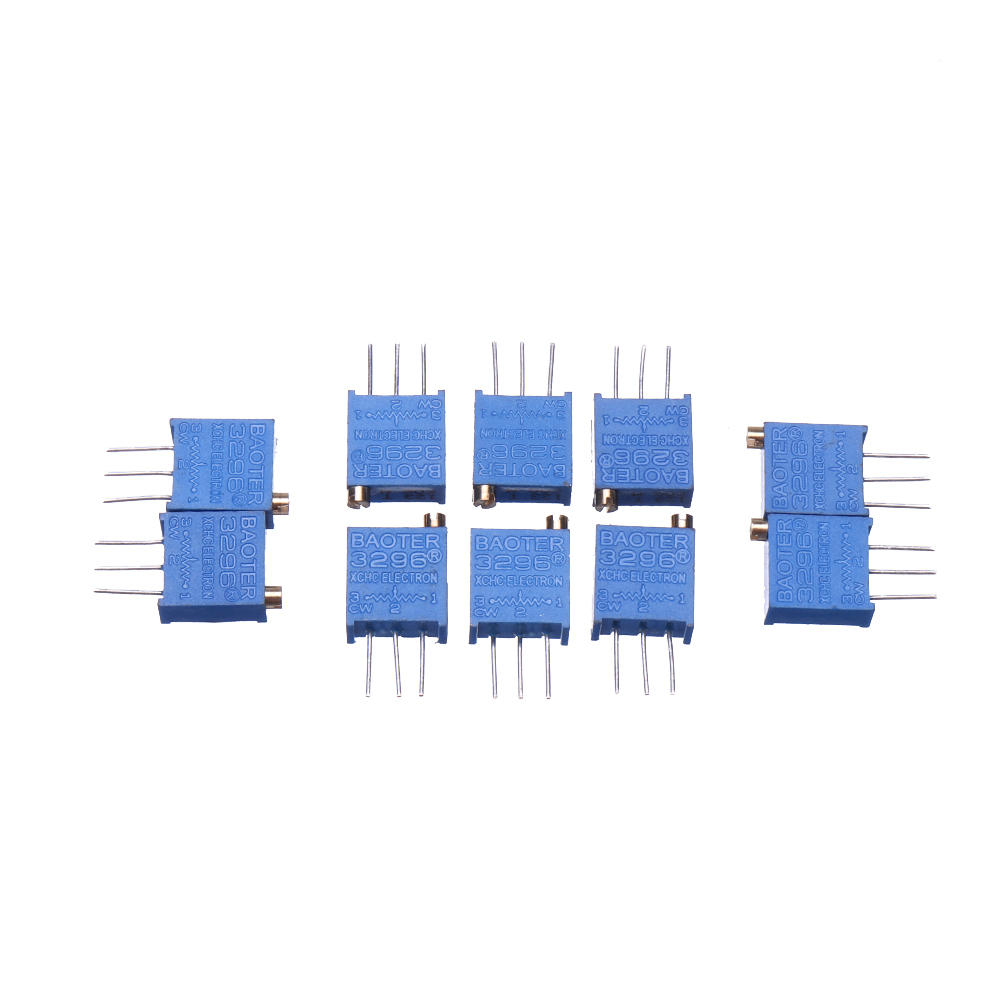 10pcs 3296W 50K ohm Trimpot Trimmer Potentiometer