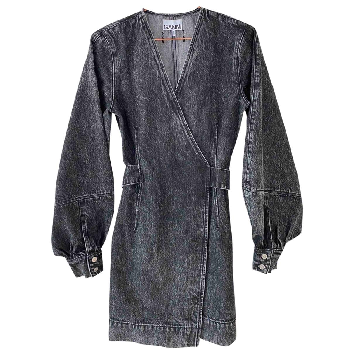 Ganni Spring Summer 2020 Grey Cotton dress for Women S International