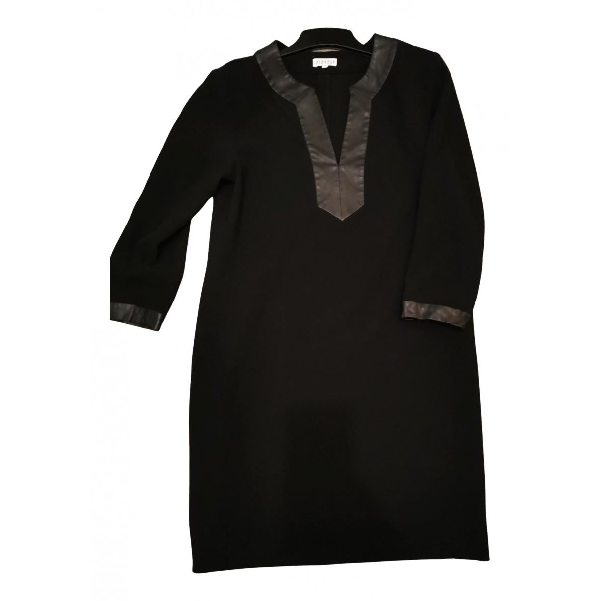 Claudie Pierlot \N Kleid in  Schwarz Polyester