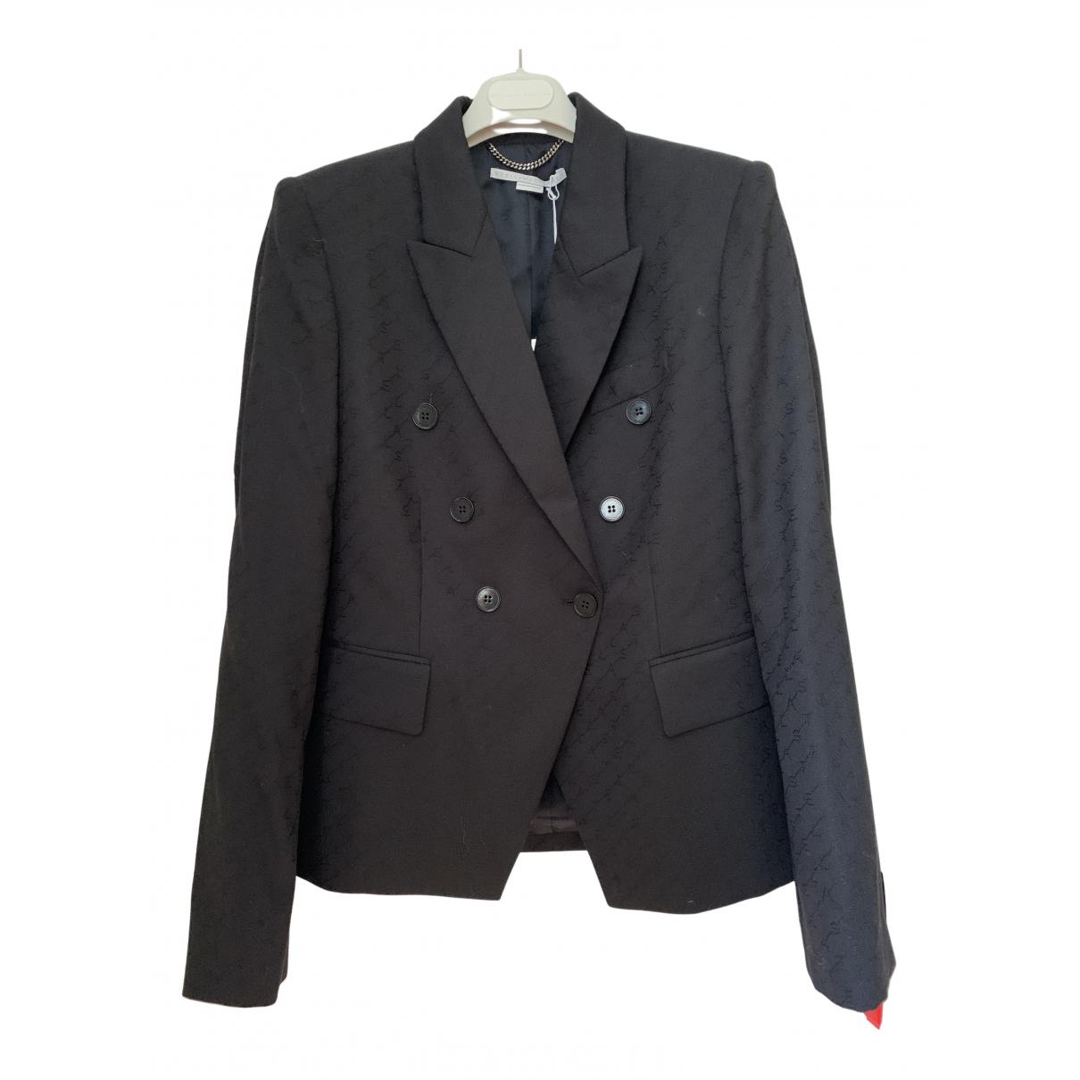 Stella Mccartney N Black Wool jacket for Women 44 IT