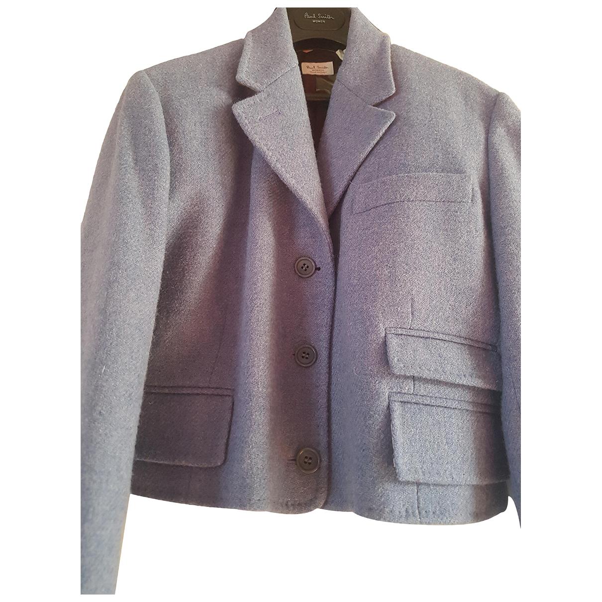 Paul Smith N Purple Wool jacket for Women 44 IT