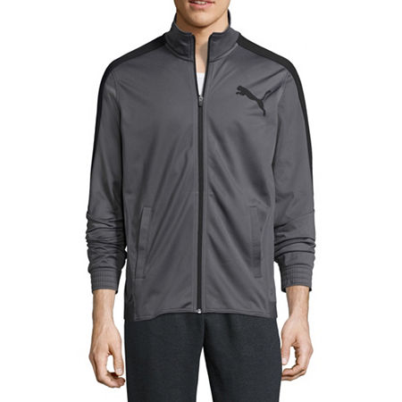 Puma Lightweight Track Jacket, Xx-large , Gray