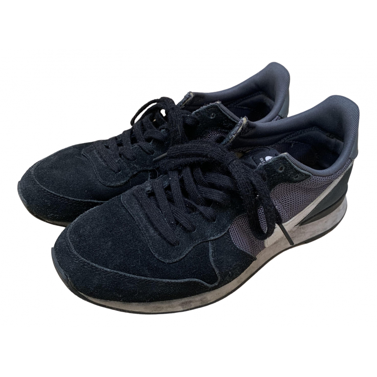Nike Internationalist Sneakers in  Schwarz Polyester