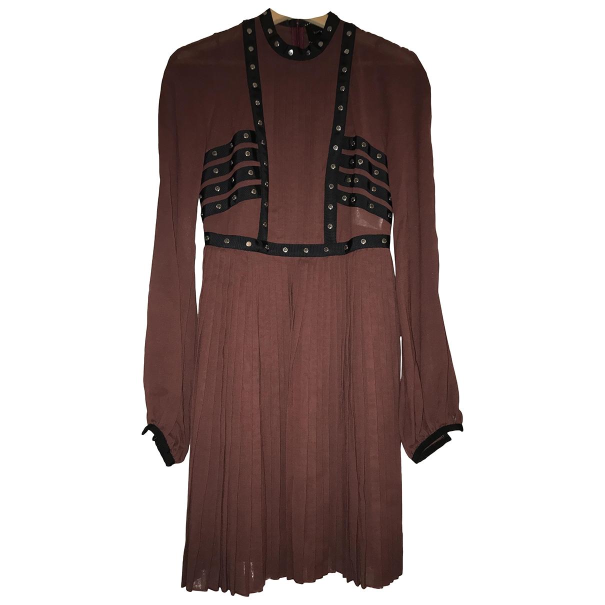 Longchamp \N Burgundy dress for Women 36 FR