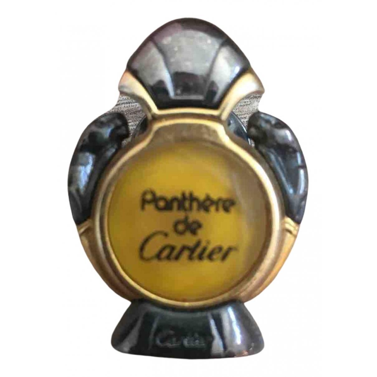 Cartier - Broche Panthere pour femme en metal - jaune